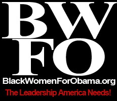 Black Women for Obama Logo