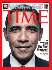 Barack Obama on the cover of Time Magazine