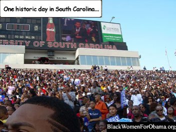 Obama Rally in South Carolina